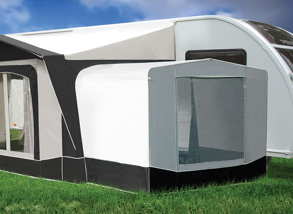 Image of caravan annexe from Bradcot's porch awnings range.