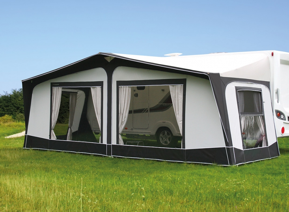 Image of Aspire caravan awnings from Bradcot residential awnings range.