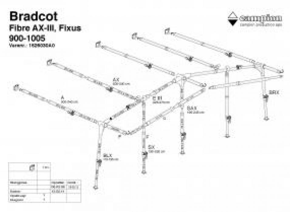 Fibre 960 Bradcot Awnings